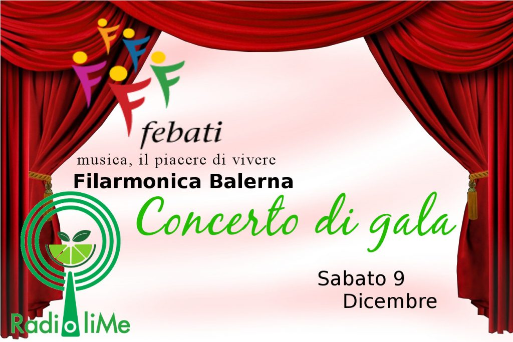 Concerto Di Gala - Filarmonica Balerna - 09/12/2017