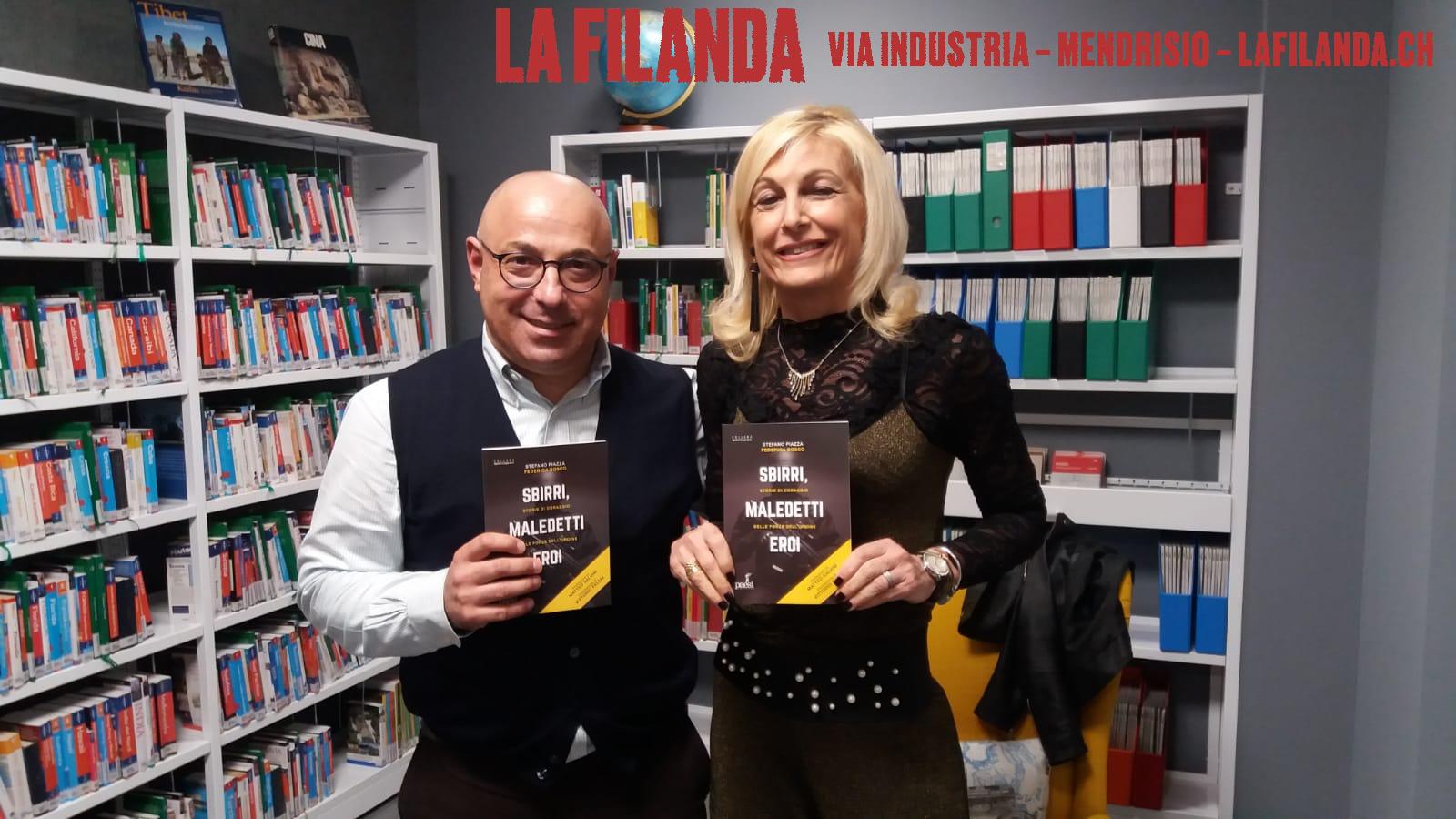 """Intervista a Stefano Piazza e Federica Bosco, autori del libro """"Sbirri, Maledetti Eroi"""" - La Filanda - 08/03/2019"""