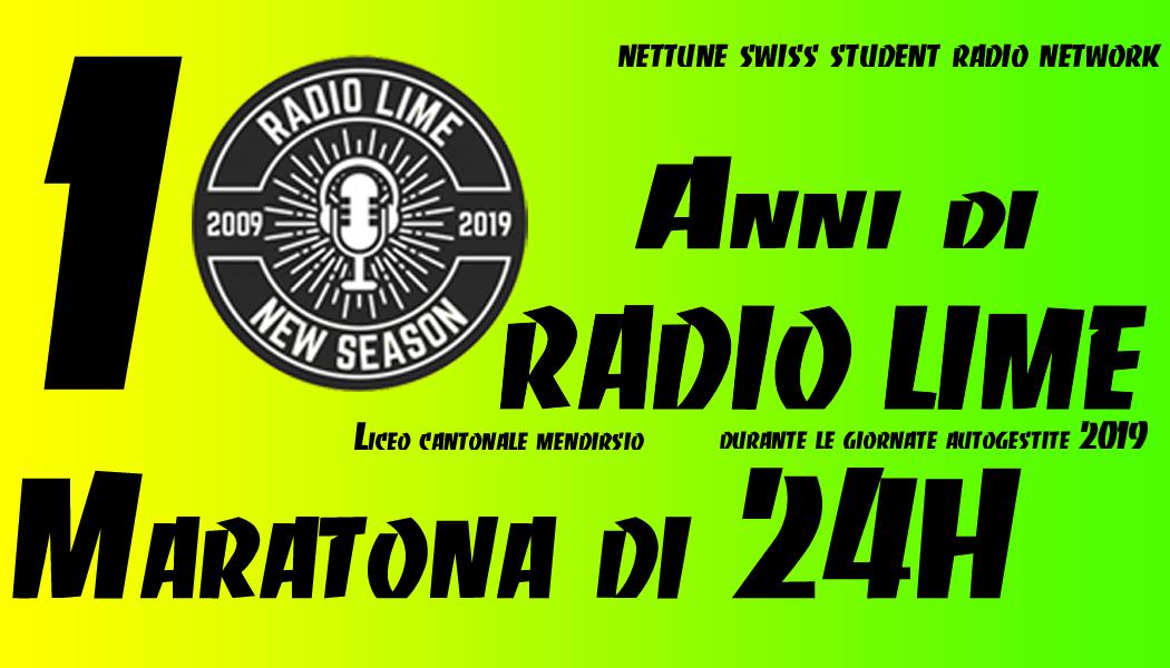 Maratona Live 24H - Radio LiMe - Dal 02/04 16:00 Al 03/04 16:00 2019