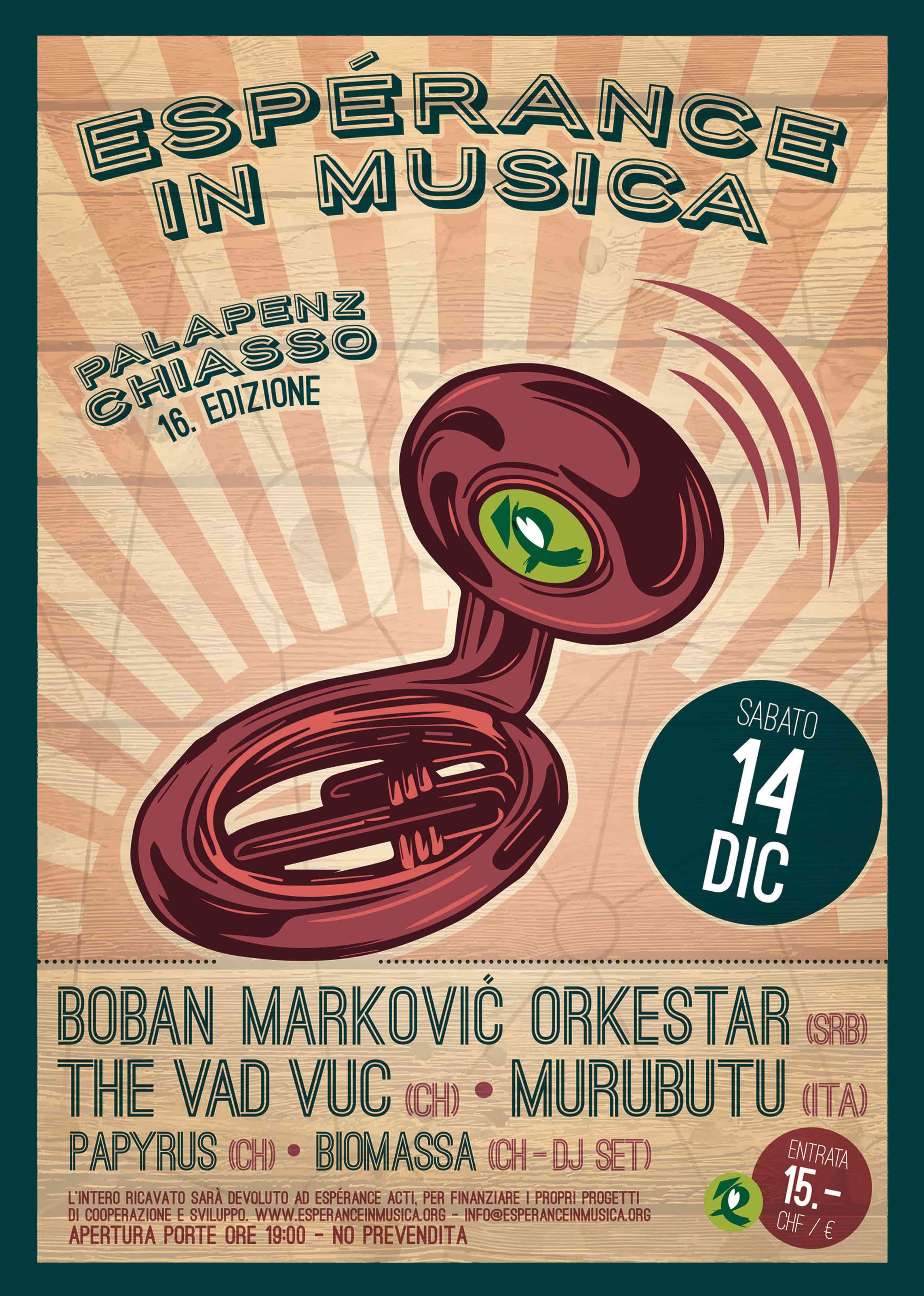 Esperance 2019 - Boban Markovic Orkestar