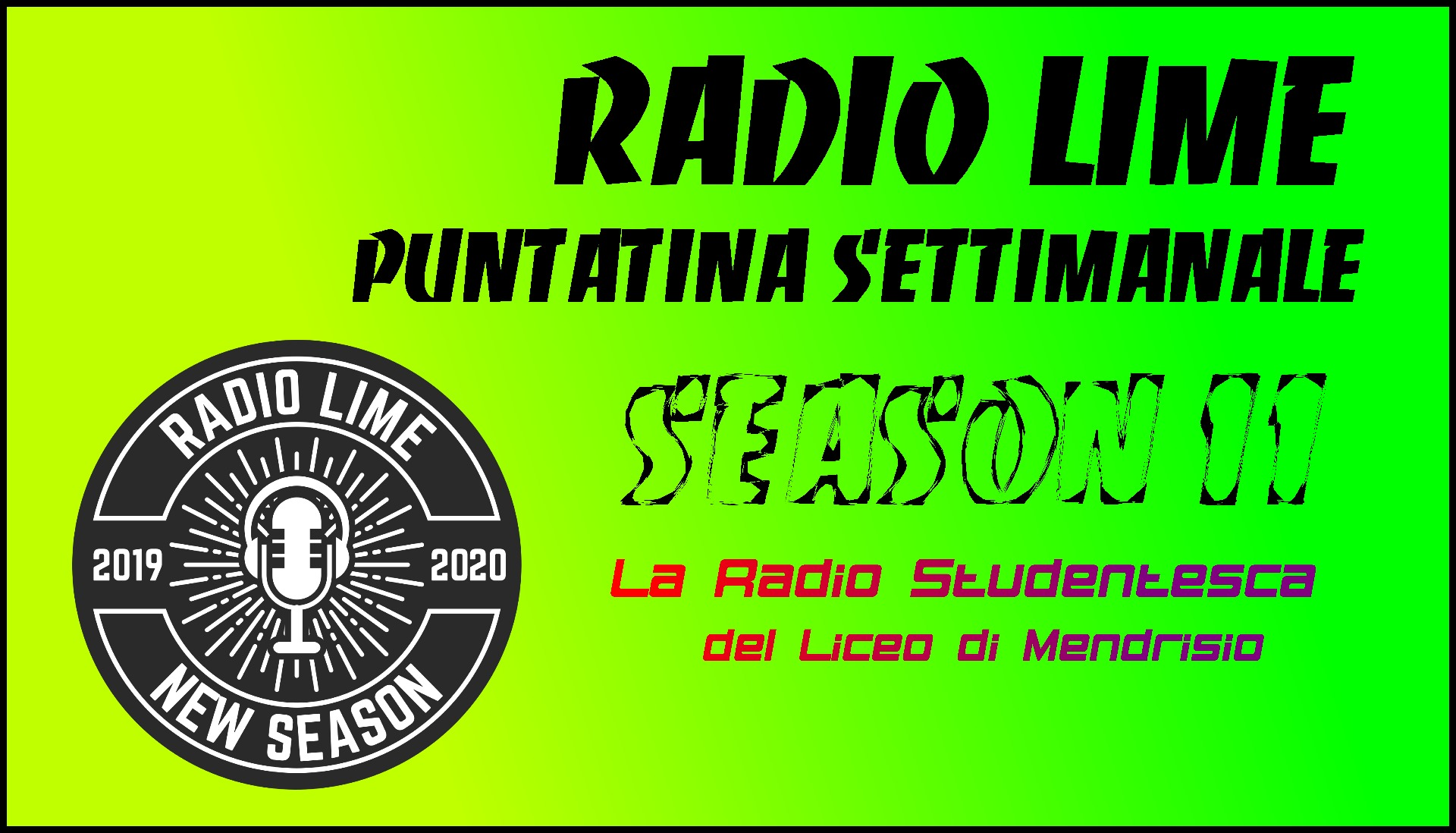 Laptop Radioing Session LiMe - 10/10/2019